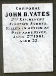 Boer War Memorial : 02-August-2011