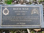 Boer War Plaque : 25-September-2011