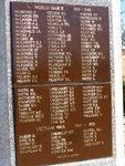 WW2+Vietnam Honour Roll : 13-August-2014