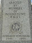 Bordertown War Memorial