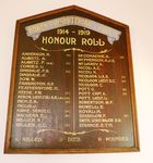 Bowen Presbyterian Church Honour Roll