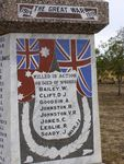 Breeza War Memorial Closeup : 16-August-2014