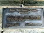 Brisbane South West Pacific Campaign Memorial Plaque