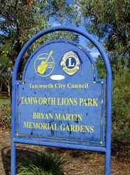 Park Sign: 16-January-2016