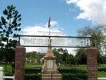Bundamba War Memorial  gate