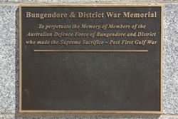 Post Gulf War Plaque