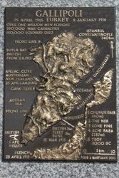 Gallipoli Plaque : 16-March-2015