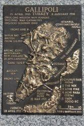 Gallipoli Plaque : 16-March-2015