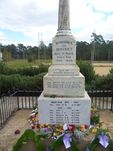Bungonia War Memorial : 26-April-2011
