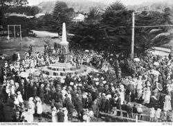 17-February-1924 Unveiling (Australian War Memorial : H17762)