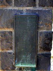 Burrows Laird Memorial Gates