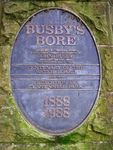 Busby Bore Plaque Inscription : 28-May-2011