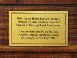 Plaque : 25-March-2015