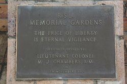 Dedication Plaque : 15-June-2015