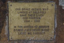 Anzac Plaque: 15-July-2015