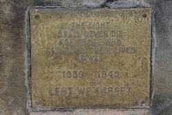 WW2 Plaque: 15-June-2015