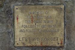 Fallen Plaque: 15-July-2015