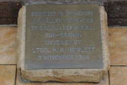 Dedication Plaque :15-June-2015