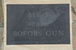 Bofors Plaque : 15-June-2015