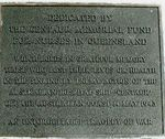 Caloundra AHS Centaur Memorial Nurses Plaque