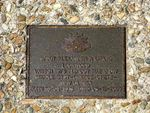 Caloundra Memorial Walkway Plaque