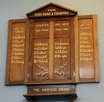 Cambridge Primary School Roll of Honour