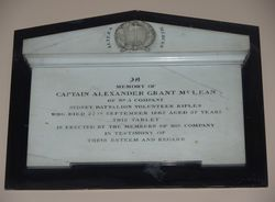 Captain Alexander Grant McLean