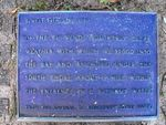Captain Cooks Landing Site Journal Plaque