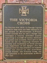 Victoria Cross Plaque : 23-November-2015