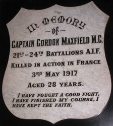 Captain Gordon Maxfield