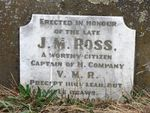 Captain J. M. Ross : 11-May-2013