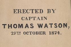 Watson Inscription : 05-October-2014