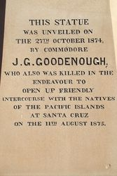 Goodenough Inscription : 05-October-2014