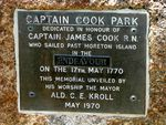 Captain James Cook Plaque