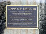 Captain John Hunter Inscription