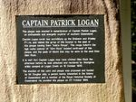 Captain Logan  Inscription