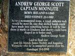 Captain Moonlites Grave Inscription