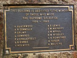 Plaque Inscription : 06-July-2015
