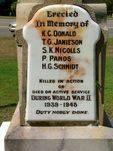 Cardwell War Memorial Inscription
