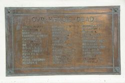 Honour Roll Fallen:11-August-2015