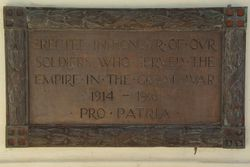 Inscription Plaque:11-August-2015