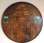 Carnarvon and Oakwood Roll of Honour