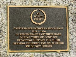 Fathers Association Plaque : 23-April-2015