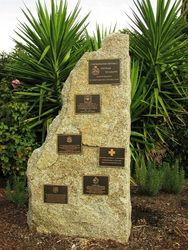 Memorial Garden Plaques : 23-April-2015
