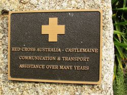Red Cross Plaque : 23-April-2015