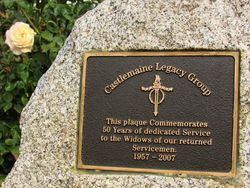 Castlemaine Legacy Plaque: 23-April-2015