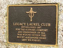 Laurel Club Plaque : 23-April-2015
