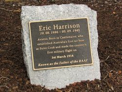 Harrison Plaque : 23-April-2015