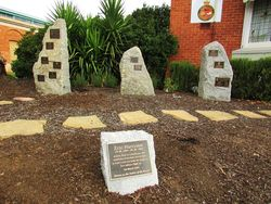 Memorial Plaques : 23-April-2015