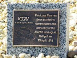 CCAV Plaque: 07-August-2015